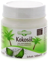 New World Gourmet Kokosöl - nativ, kaltgepresst 500 ml, 1er Pack (1 x 500 ml) - 1